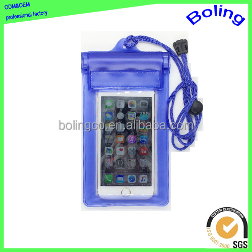 Christmas gifts pvc waterproof mobile phone pouch
