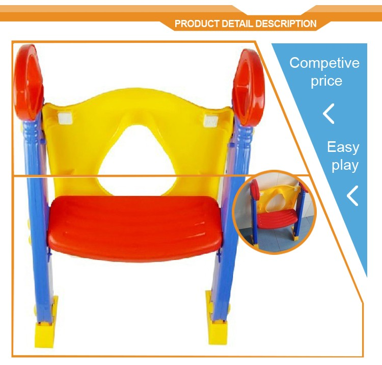 Baby toilet trainer toddler ladder step kids potty toliet traning seat