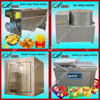 Best Selling Electric Stainless Steel Frozen French Fries Production