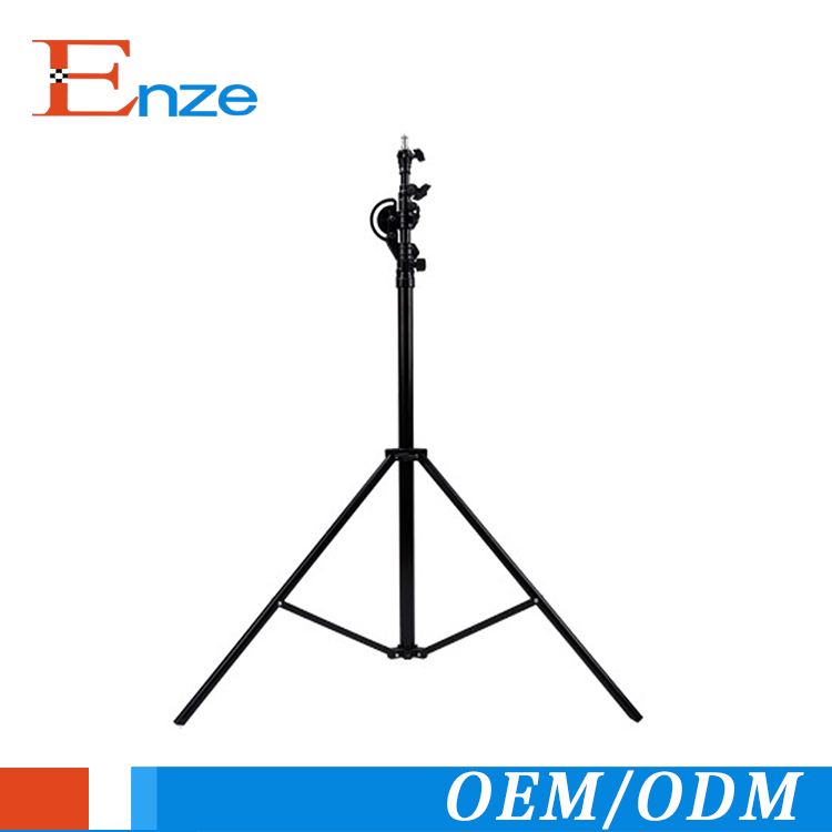 Professional stand adjustable telescopic light camera quick release plate tripod floor lamp tripod for light