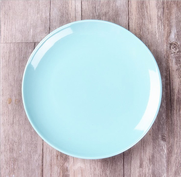 Dishes u0026 Plates 20cm diameter Retro ceramic plate hot Japanese Porcelain dishes creative steak dish DinnerwareTTC07.33-in Dishes u0026 Plates from Home u0026 Garden ... & Dishes u0026 Plates 20cm diameter Retro ceramic plate hot Japanese ...