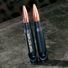 Personalized Engraved Military Once Fired Real Bullet Shell Casing 50 Caliber Bullet Bottle Opener