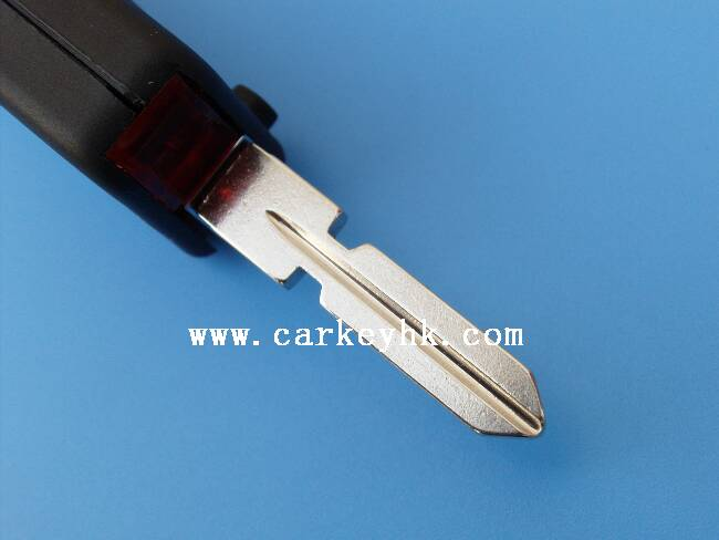 Wholesaler and retailer of auto key 2 buttons flip key shell 2 track blade