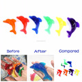Fish Dolphin Shaped Crystal Soil Kids Growing Up Toy Jelly Color Water Beads Wedding Home Decoration