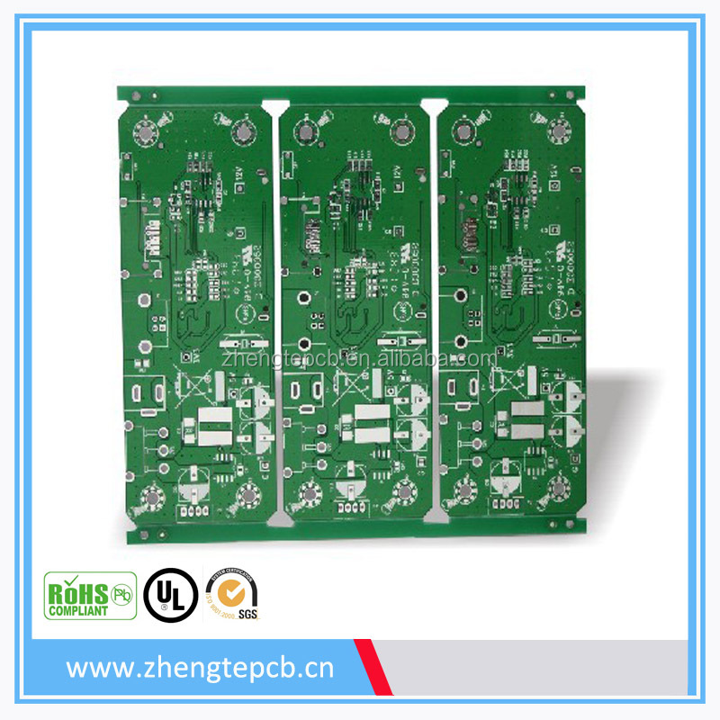 Double Sided FR4 PCB, Double Sided Copper Clad laminate PCB Board
