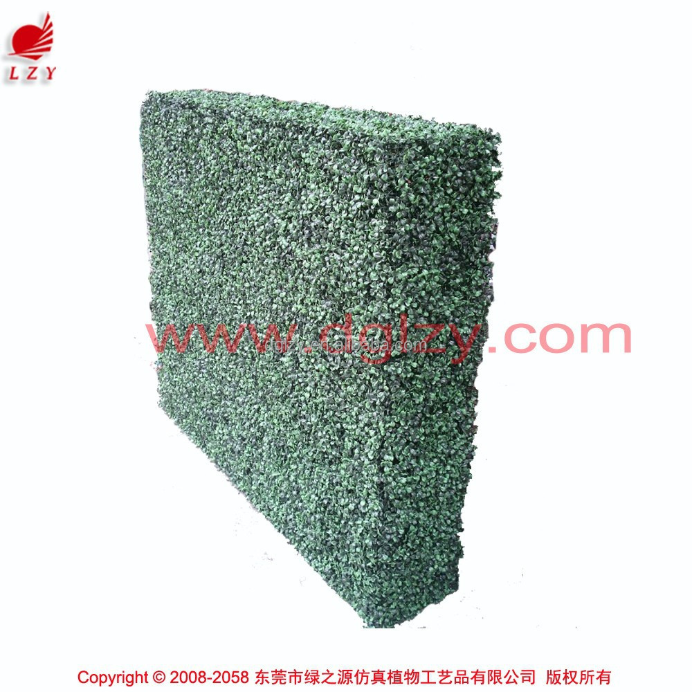 Outdoor artificial boxwood topiary plastic hedge