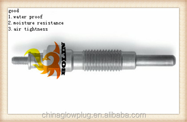 PN120 hot sale high quality diesel engine glow plug for NISSAN