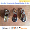 Zinc Alloy Single Pulley Nickle Plated