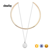 22889 Multi Layer Necklace Women Summer Pendant Jewelry