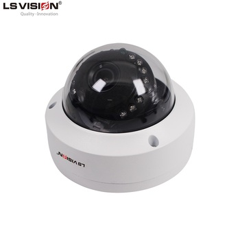 LS VISION 1920 X 1080P IP Dome Camera with Sony Sensor for POE Dome Facial Recognition Security Camera System