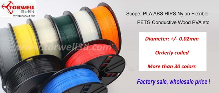 1.75/3mm 3D printing PETG T-glass plastic consumables for all FDM 3D printer
