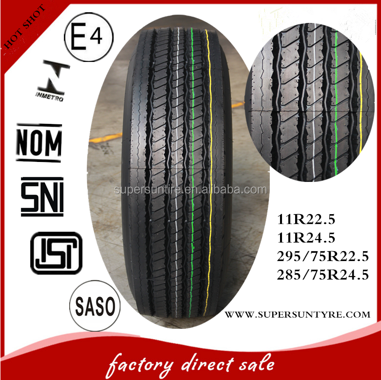 Heavy duty 11R22.5 Triangle truck tyre tires