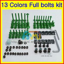 Motorcycle Fairing bolts full screws bolt kit For HONDA KAWASAKI SUZUKI YAMAHA DUCATI BW TRIUMPH Aprilia screw nuts nut 1HM50