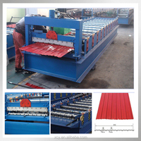 Building material arb high quality steel roof tile roll forming machine made in China