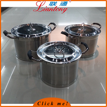 20-22-24cm hot pot casserole set stainless steel