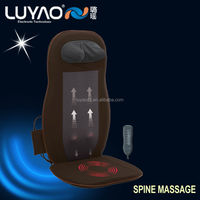 Chair back massage, vibrating heated chair cushion LY-803A-2
