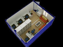 40ft prefab 40 ft container office