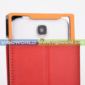 "Western popular patented universal custom cell phone case for 5.2-5.8"" phone with camera frame"