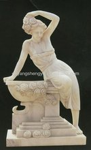 beautiful figure stone statue