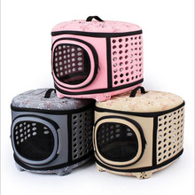 Pet Breathable Comfort Airline Approved Pet Carrier Pet Cage For Cats Small Dog