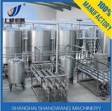 Full automatic dairy milk production line,cheese,yogurt,butter,sour cream machine
