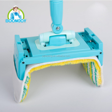Boomjoy PD-01 Mop and mop bucket set spin mop with 2 buckets wheels Twist mop china stainless steel basket microfiber