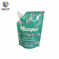 Masque 3oz Treatment For Hair And Body Custom Printed Resealable Bags Stand Up Pouch With Spout