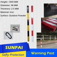 Sunpai price pneumatic steel pipe covers bollard