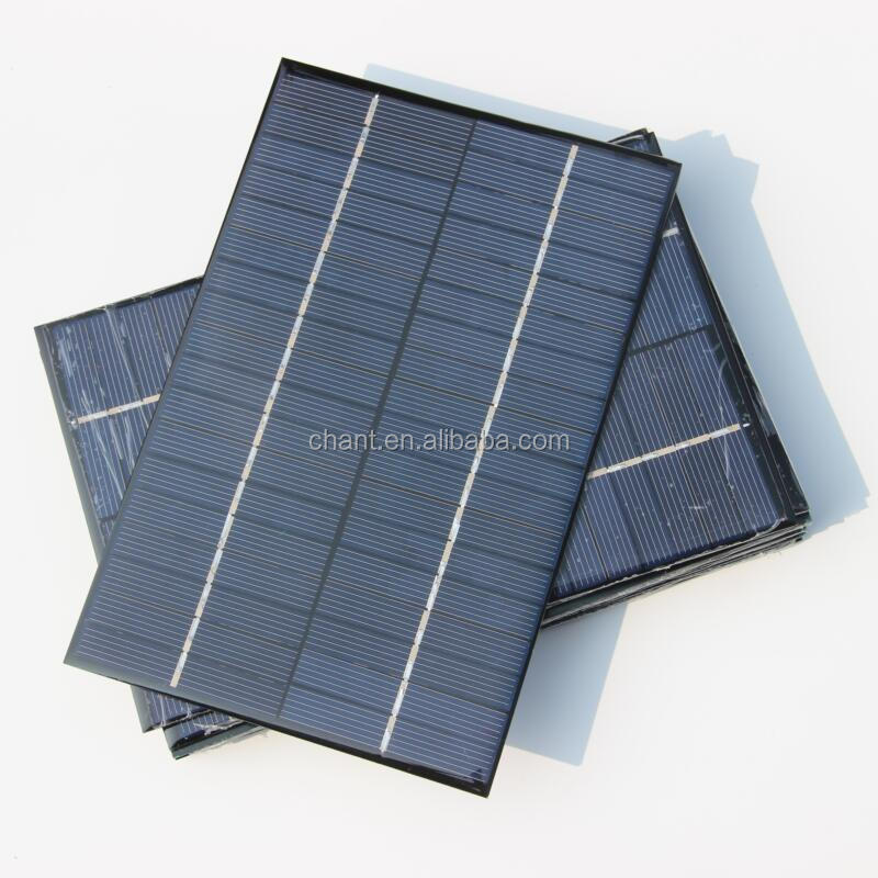 Factory price china made polycrystalline 18 v 4.2 W home system DIY solar panel