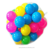 Hot sale colorful plastic ball pit ball color ball for kids