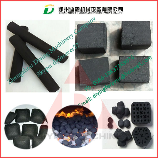 Square shape charcoal briquette pressing machine/ charcoal briquetting machine/ coconut shell charcoal briquette machine