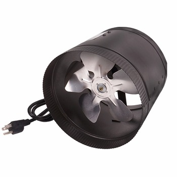 TRILITE Greenhouse Hydroponics Black Color Light Weight Indoor Duct Fan