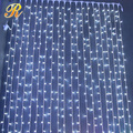 Holiday outdoor commercial curtain lighting