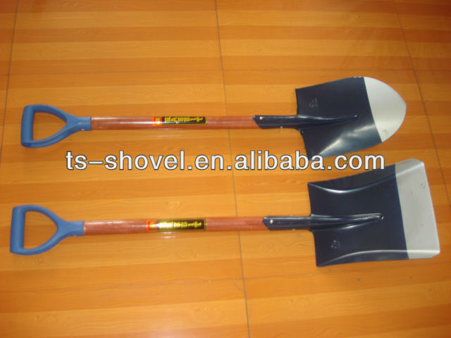 hand tools for building and construction rabbit wooden handle shovel