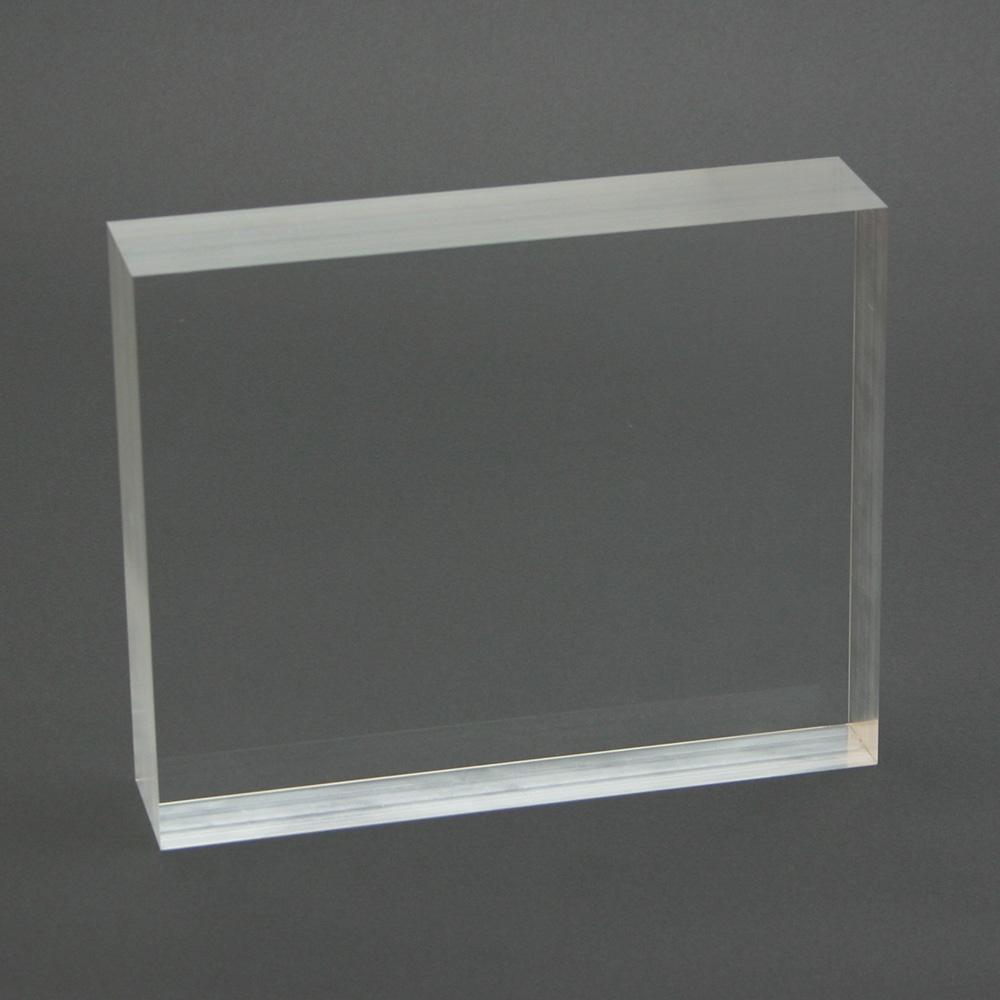 Customized acrylic glass block clear acrylic glass block for Acrylic glass block
