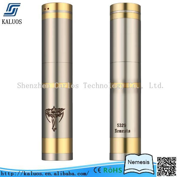 Kaluos e-cig nemesis mod most selling product in alibaba