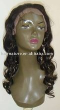 synthetic lace front wig in high quality