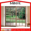 aluminum glass safety door design with grill/sliding glass door design