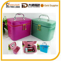 decorative PU beautify cosmetic box