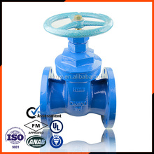 Carbon Steel A216 Flanged End Gate Valve