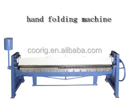 square duct forming machine, hand folding machine