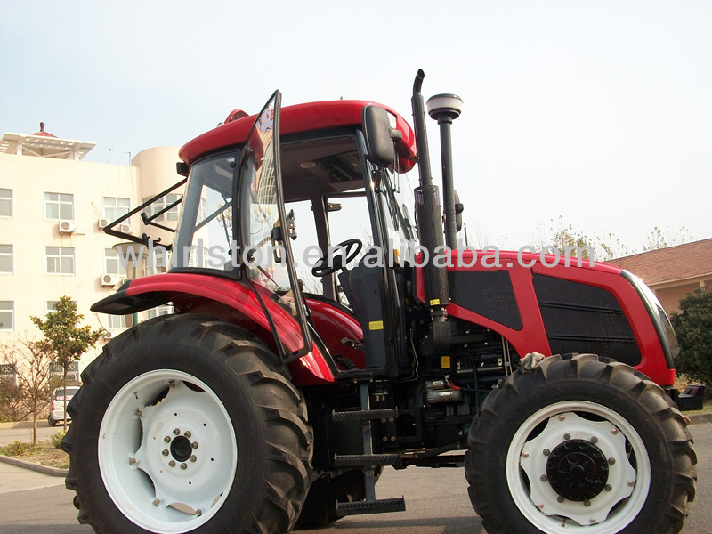 75hp 4WD wheel drive mini tractor for farmer use 0086-13733199089