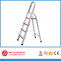 4step home ladder,fold up aluminium ladder,aluminium step ladder