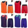 High quality cheap price custom reversible jerseys basketball