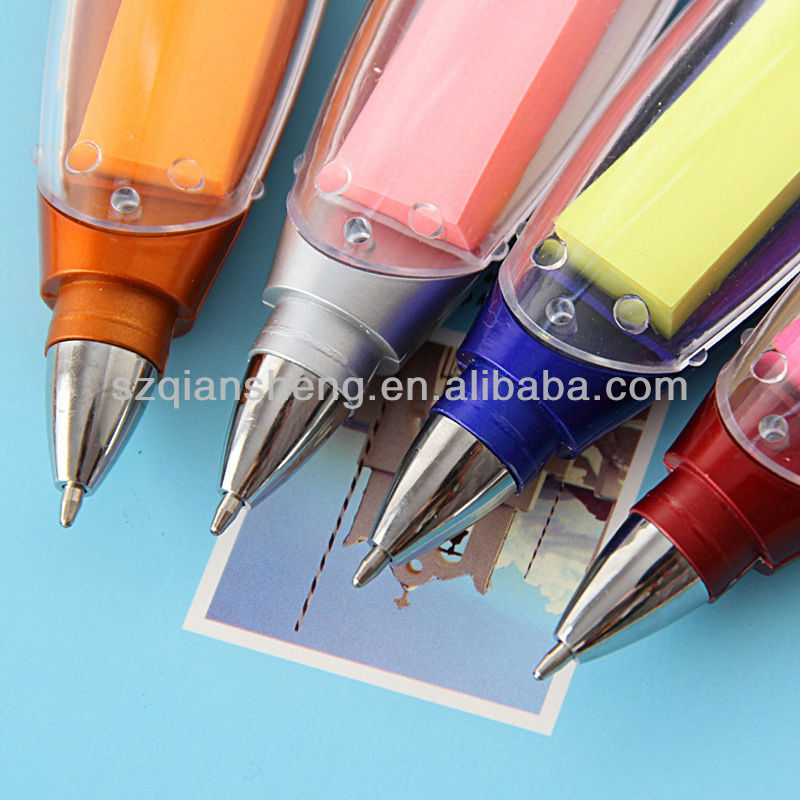 promotional LED flashing multi function ballpoint pen note pen