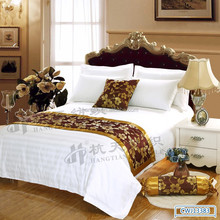 Hotel use cheap price minimalist bed runners,hotel bed throw,decorative table runner
