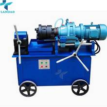 Construction Machinery Manual Operated Electric Rebar Thread Rolling Machine