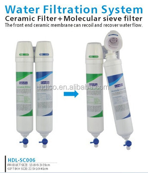 China manufacturer water life filter system