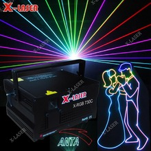 3W RGB 3d animation projector/outdoor sky laser beam light/starry night sky projector show laser Light