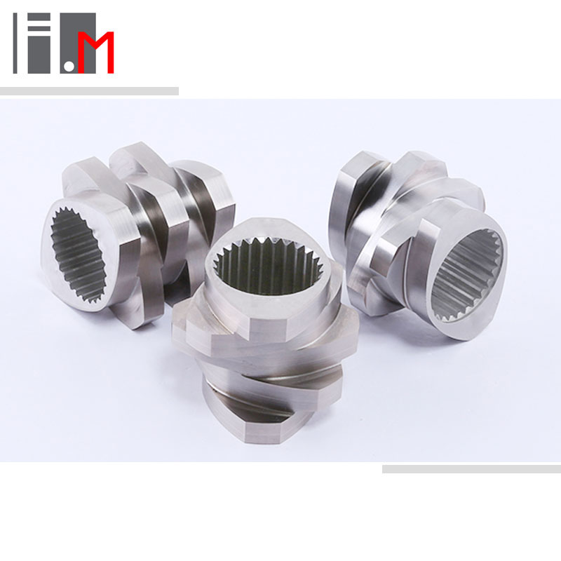 screw and barrel for plastic extruder machine